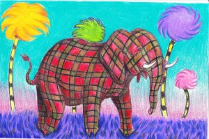 plaid_elephant_with_truffula_trees_by_stacey_ross_benjilt-d4yrfmg